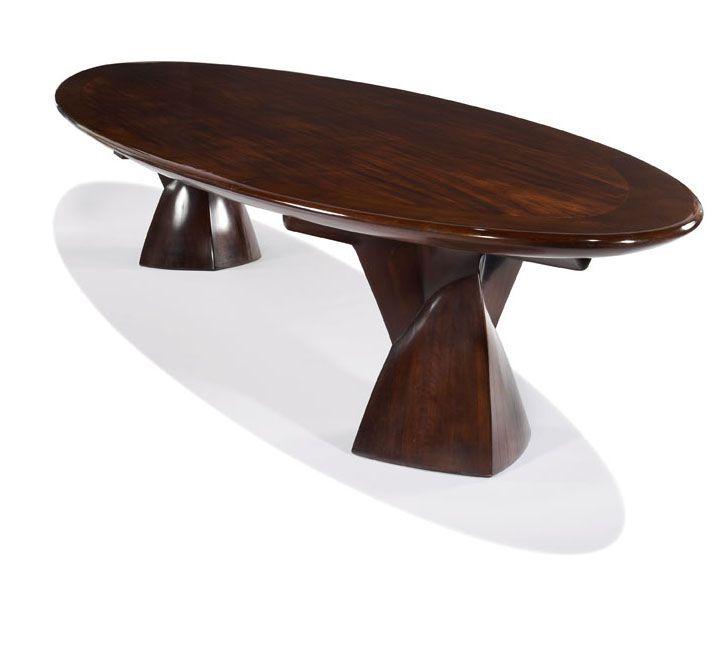 "Paolo Buffa, style Monumental dining table Designed c. 1960 Brazillian Rosewood Studio 29""h x 172"" x 55"""