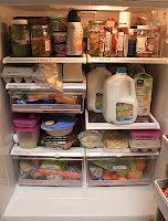 Refrigerator organization tips #cookingandhouseholdhints