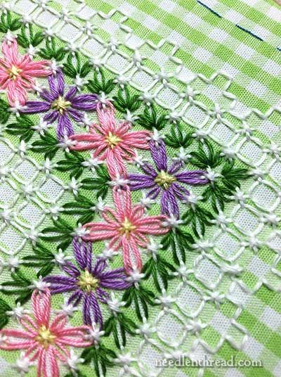 Chicken scratch gingham embroidery index some