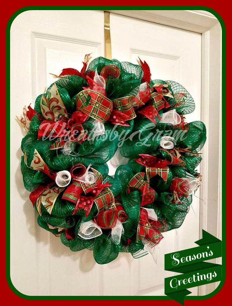 christmas wreath holiday wreath deco mesh wreath christmas decoration christmas gifts front door wreath holiday decor christmas decor