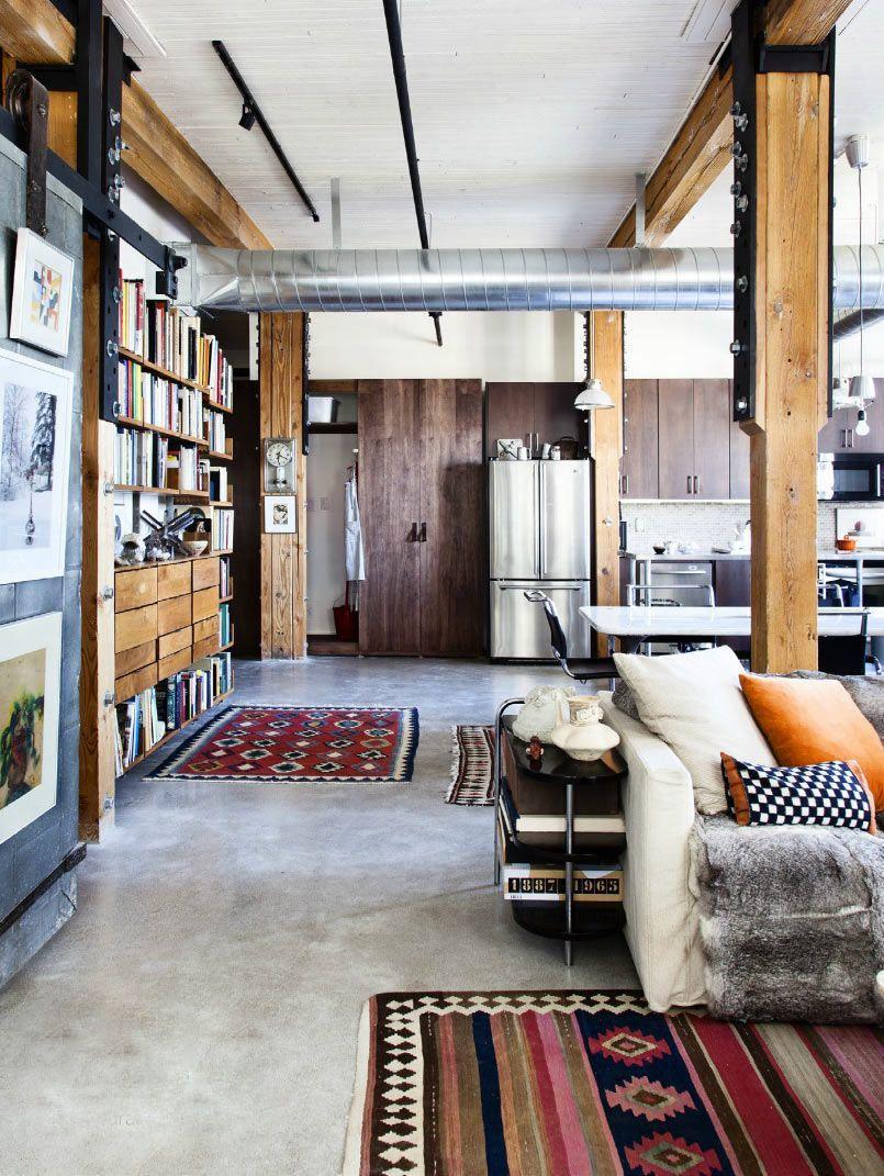 Social survival industrial pisos de cemento for Appartamento design industriale