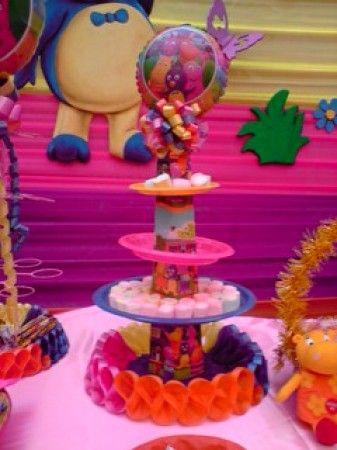Mesa de fiesta infantil fiestas infantiles chupeteros y - Como decorar una mesa para una fiesta ...