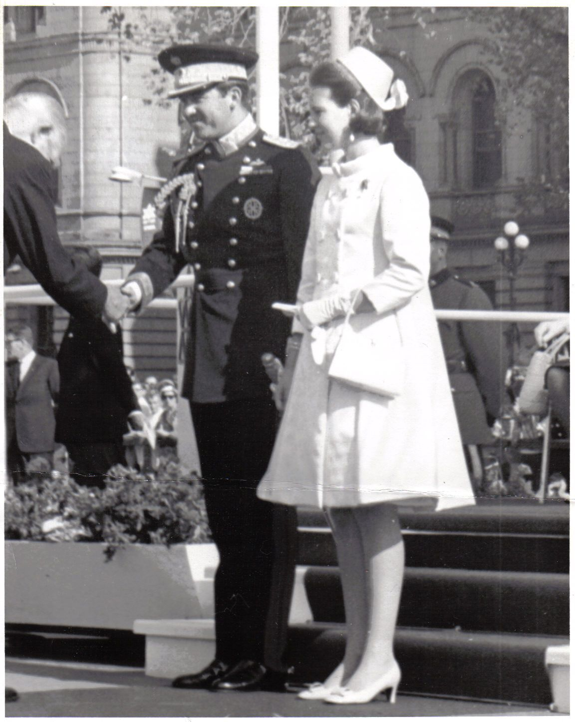 savecfbrockcliffe's blog: King Constantine and Queen Anne-Marie of Greece visit Parliament Hill in Ottawa, September 1967