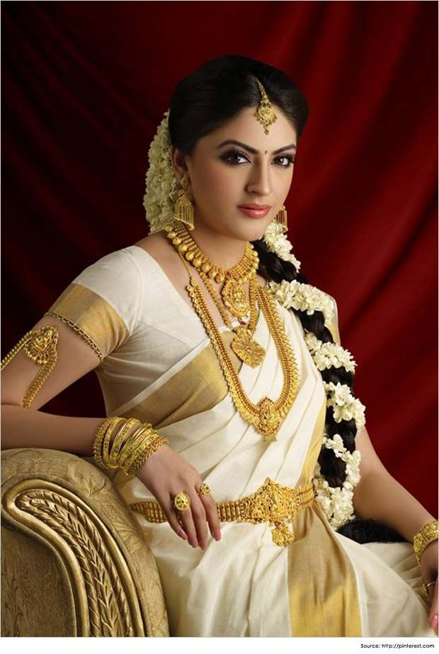 Hairstyles for Sarees South Indian Sarees | Wedding | Pinterest ...