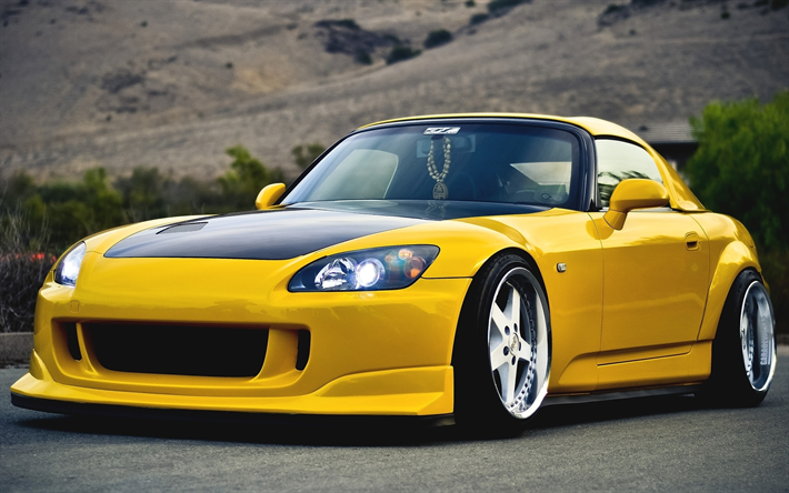 Download wallpapers Honda S2000, stance, japanese cars ...