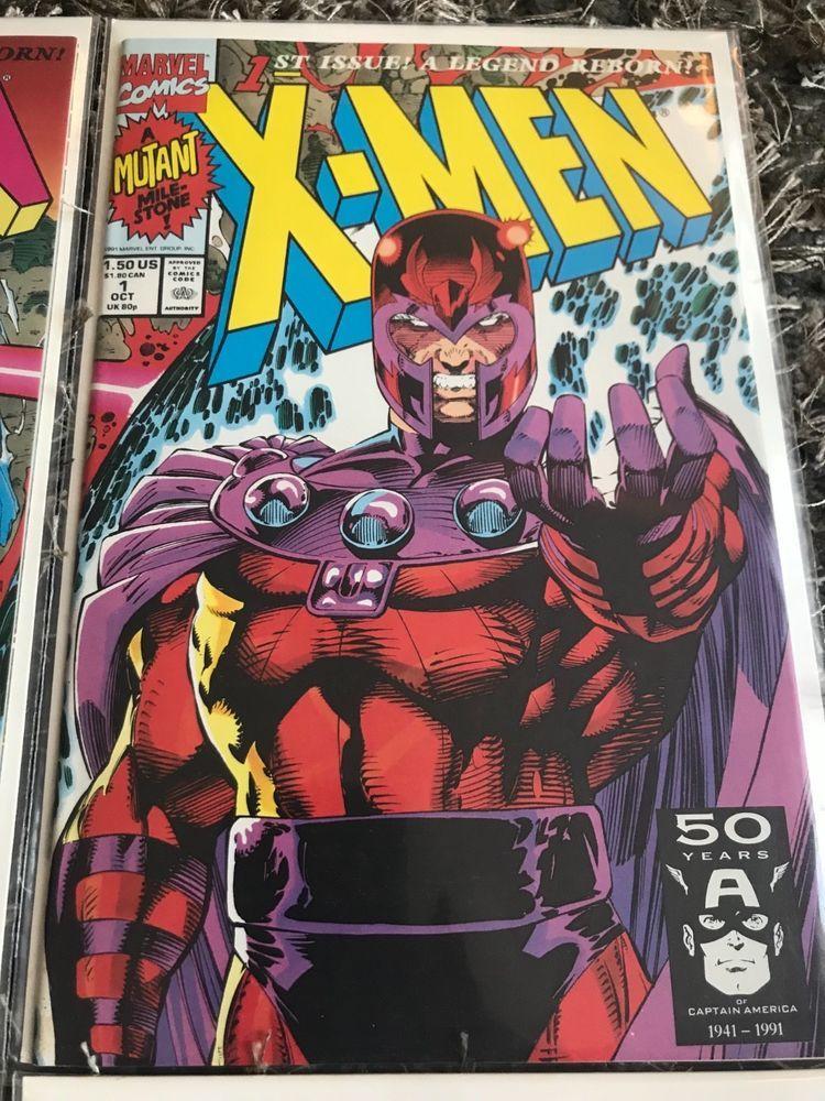 X Men 1st Issue A Legend Reborn October 1991 Comics Comicbooks Copperagecomics Comic Books Comics X Men