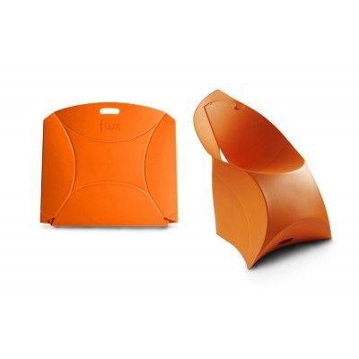 Possibly the niftiest folding chair ever.  Out of my price range but SO. DANG. COOL.