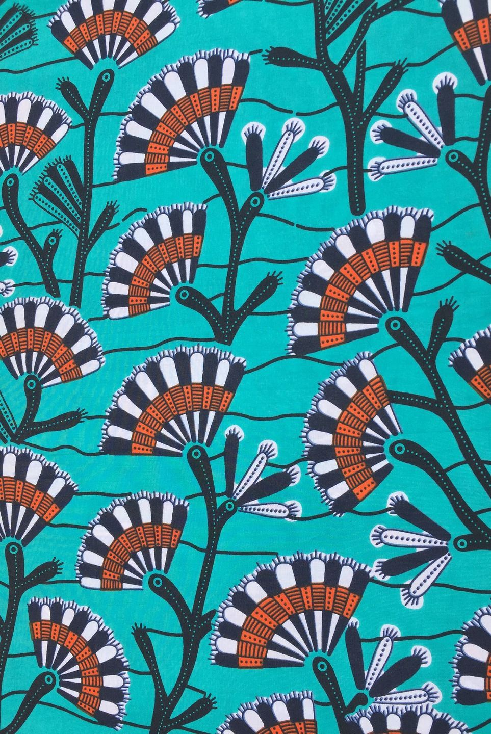 Pagne Wax 109 Printed By Wax Collection Tissu Africain Tissus Habillement Deco Par Odile La Benin Tissu Africain Motifs Africains Art Africain Traditionnel