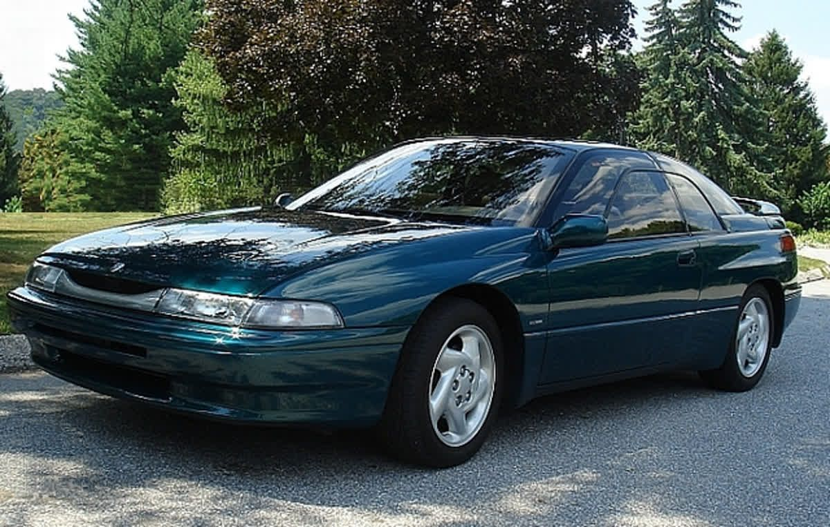 Time for ThrowbackThursday with a 1996 Subaru SVX. TBT