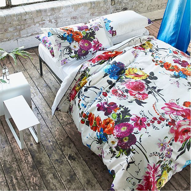 This Beautiful Floral Bedlinen From Designers Guild Will Bring The Plainest  Bedroom To Life!