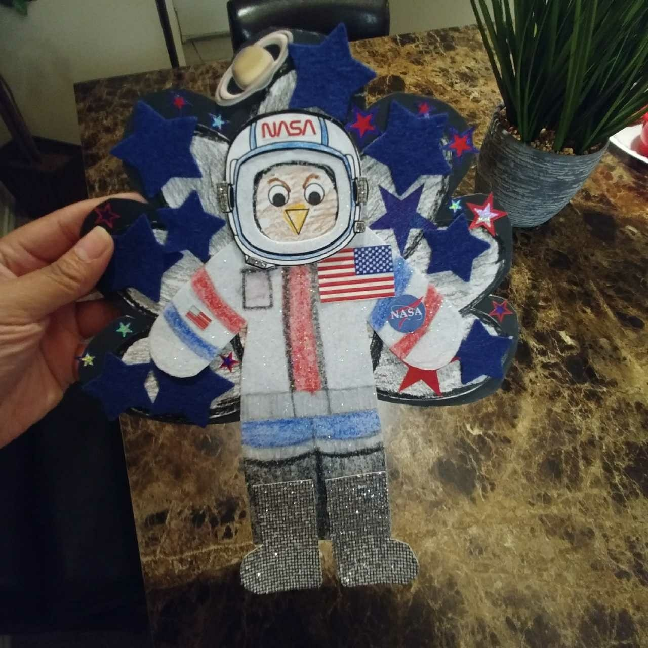 Disguise A Turkey Astronaut #turkeydisguiseprojectideaskid