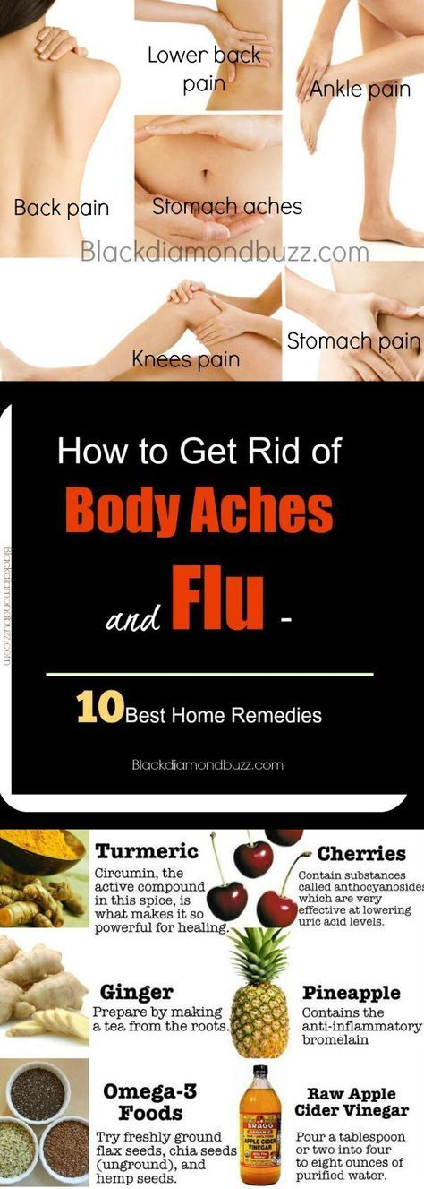 How To Get Rid Of Body Pain From The Flu