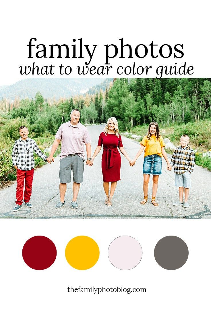 Favorite Fall Colors Outfit Guide – The Family Photo Blog #familyphotooutfits