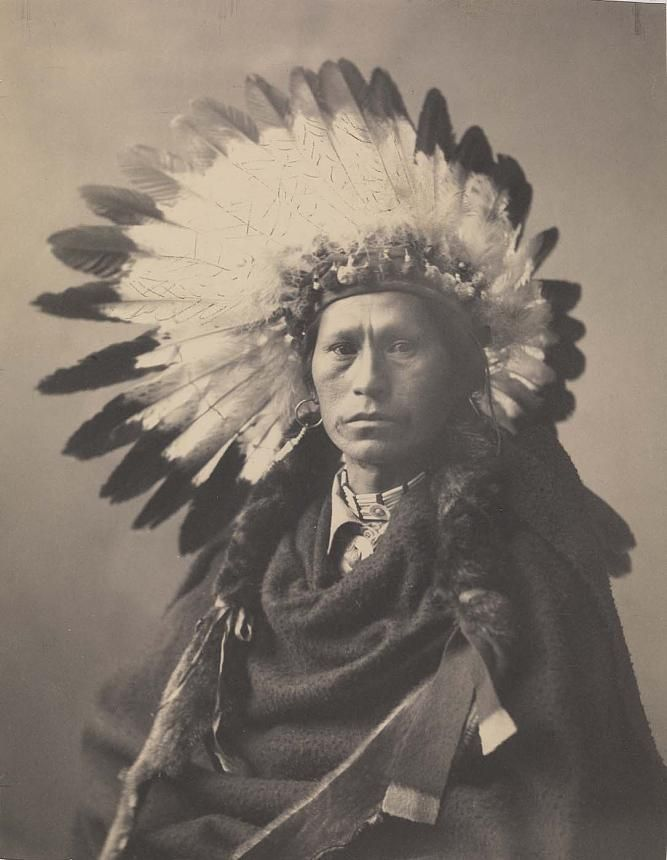 James A.Garfield (Photography) - Chief of Apaches, 1900