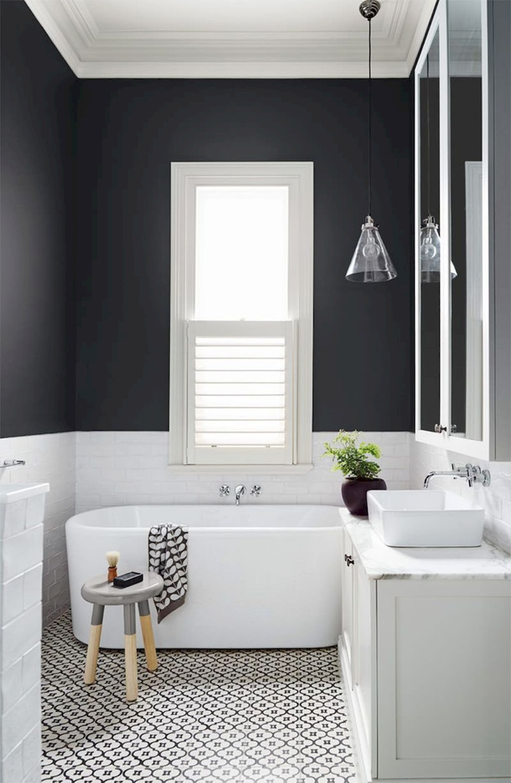 Must See Bathroom Tiles Ideas How To Configure It In Small Space White Bathroom Designs Bathroom Design Small Small Bathroom Remodel
