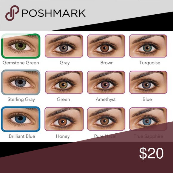 fresh look color contacts nwt in 2018 my posh picks pinterest