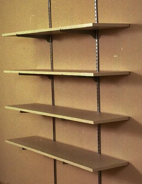 Wall Shelving Nice Because It Is Adjustable But You Can See The