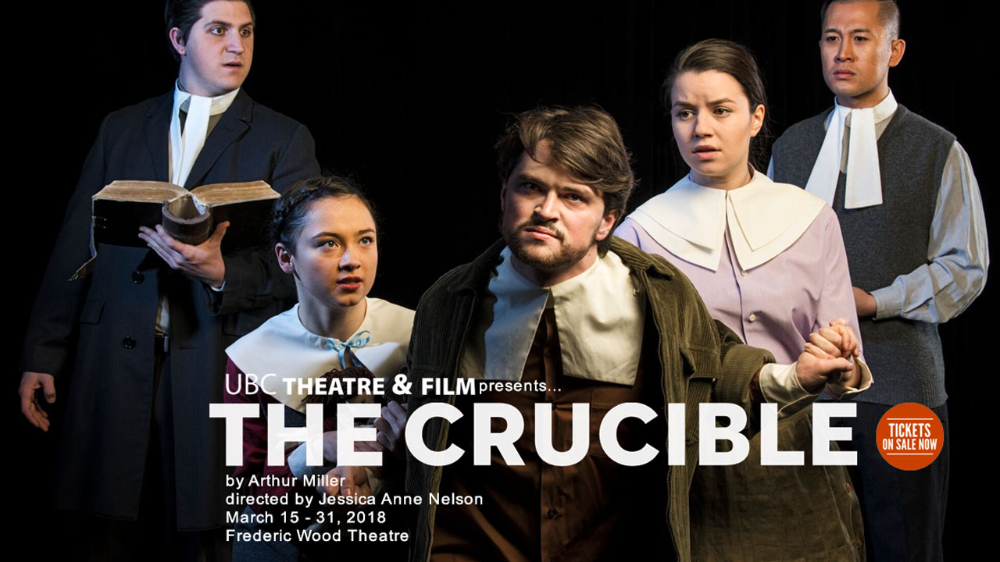 THE CRUCIBLE BY ARTHUR MILLER PRESENTED in 2020