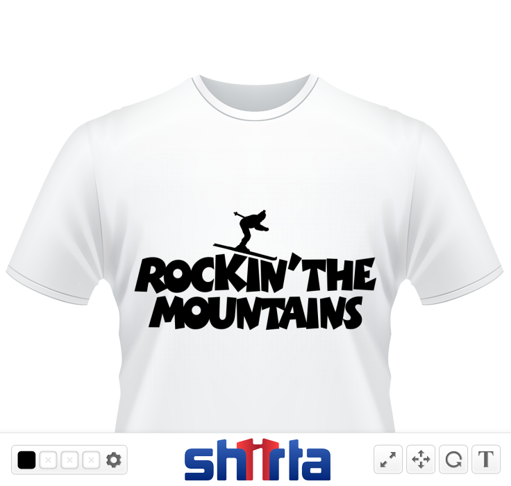 Skiing Design for Rocking the Mountains