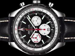 Breitling - Chrono-Matic 49 A14360 Cassa: acciaio - 49 mm Vetro: zaffiro Colore quadrante: nero Bracciale: pelle Chiusura: deployant Movimento: automatico