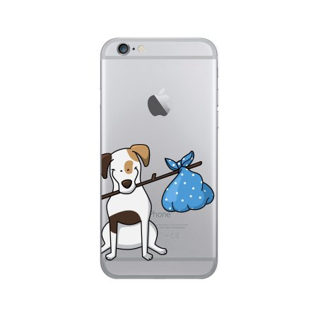 Otm Prints Clear Phone Case, Jack the Terrier iPhone 6