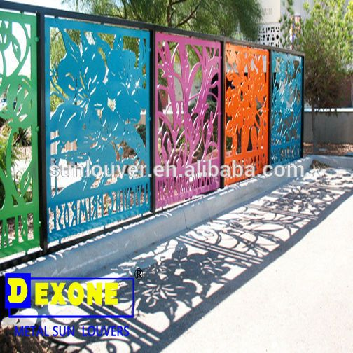 Cnc Aluminum Decoration Fence At Outdoor Garden Buy