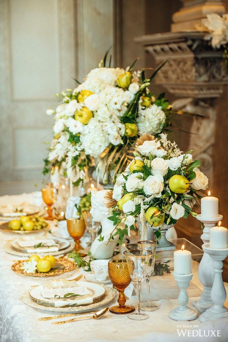 WedLuxe An Ethereal Take on Ancient Greece Wedding