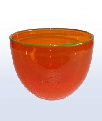 Glasobjekte, mundgeblasen, aus Schwarzwälder Glasbläserei. Der Glasbläser Dir…