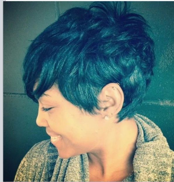 17 Great Hairstyles for Black Women | Salons, Rivers and Short hair