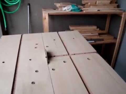Serra De Bancada Caseira Com Serra Circular Homemade Table Saw