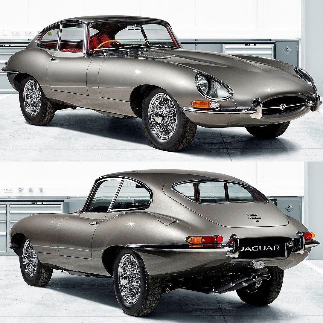 Jaguar Etype Reborn modelo clássico em estado 0 Km será