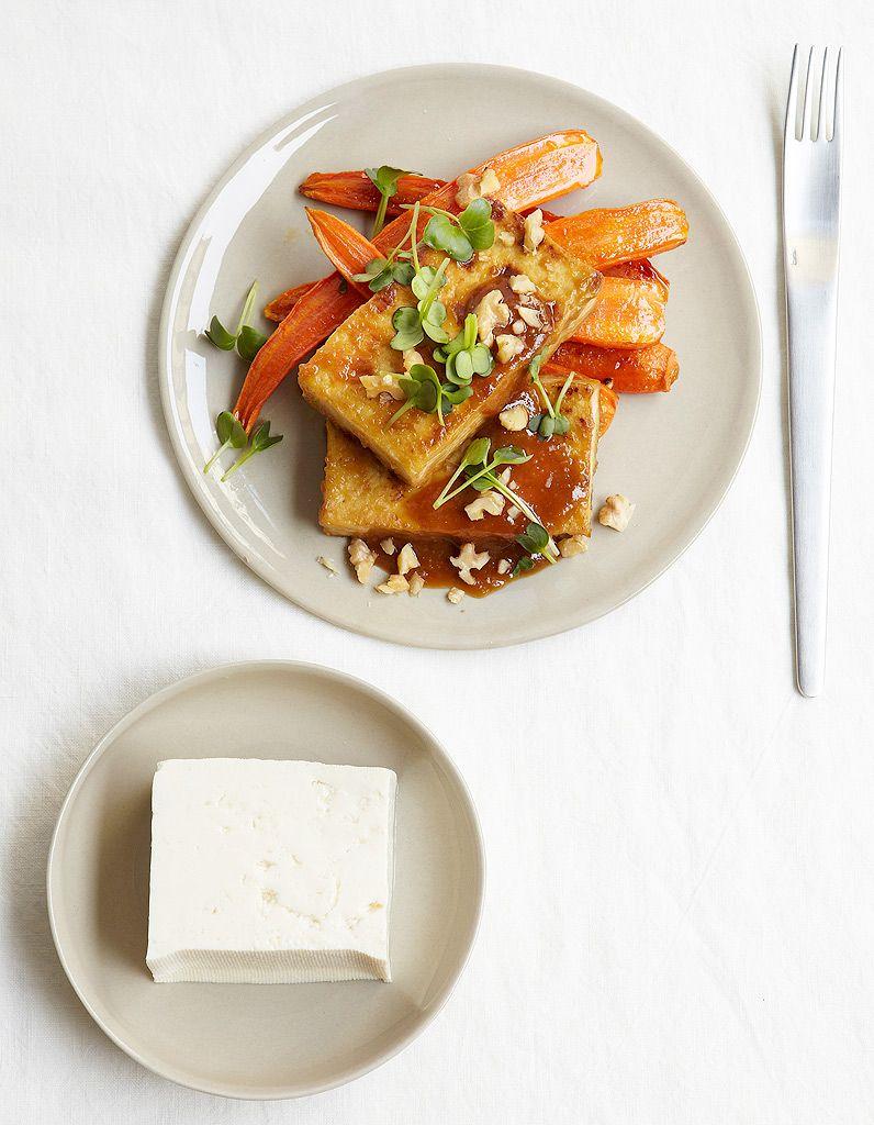 Tofu et carottes rôties, sauce miso | Recette (avec images ...