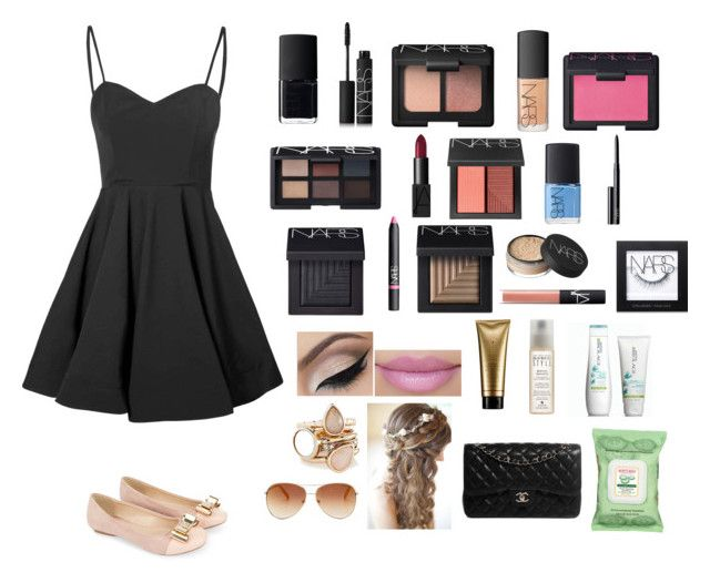 """Cute"" by bri0204 ❤ liked on Polyvore featuring Glamorous, NARS Cosmetics, Serge Normant, Alterna, Matrix Biolage, The Limited, Tommy Hilfiger, Monsoon, Burt's Bees and Chanel"