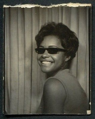 Photobooth Photo Her Future Was So Bright She Had to Wear 1 1 2 x 2 Inches | eBay