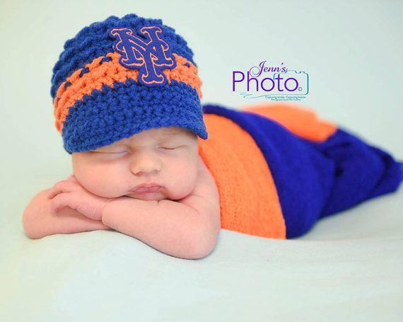 Newborn photo propphotography propnew york metsnew york mets hat