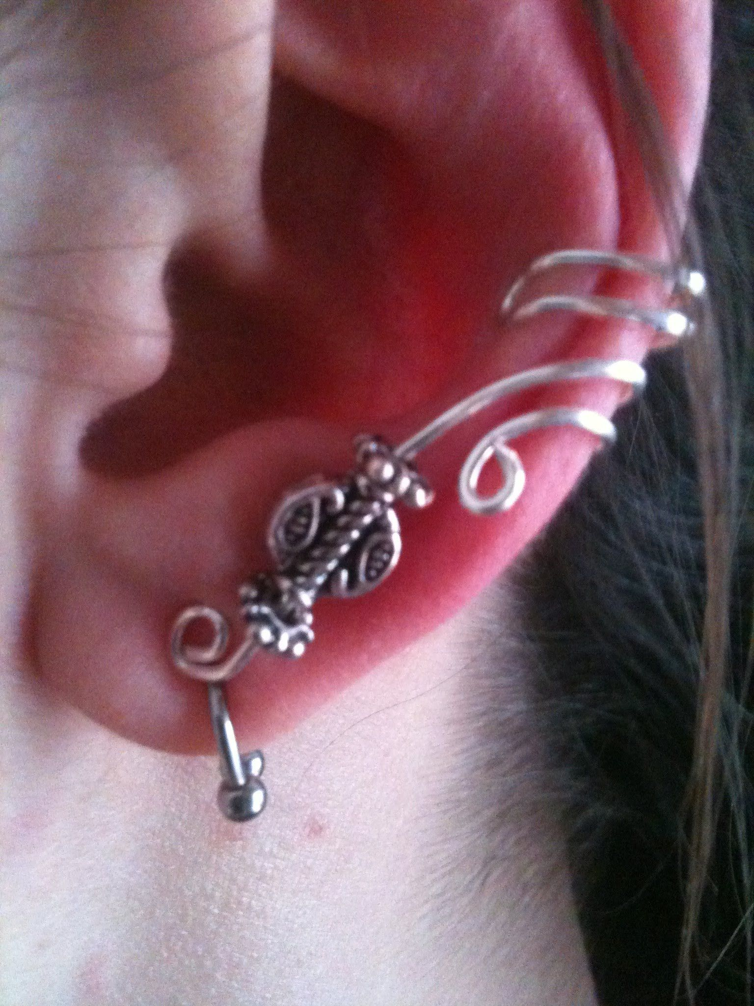 how to make ear wrap jewelry