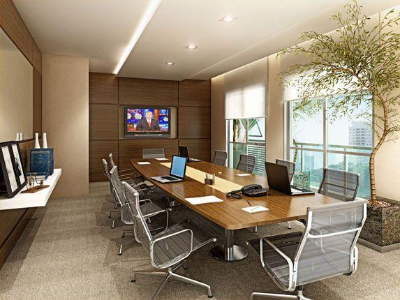 Projetos de salas de reuni o com mesas de trabalho - Mesas de sala modernas ...