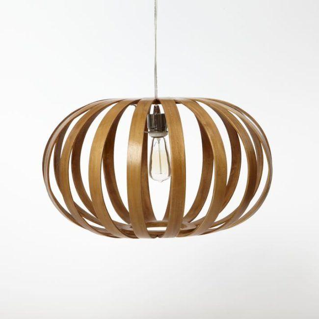 Diy West Elm Inspired Bentwood Pendant Light