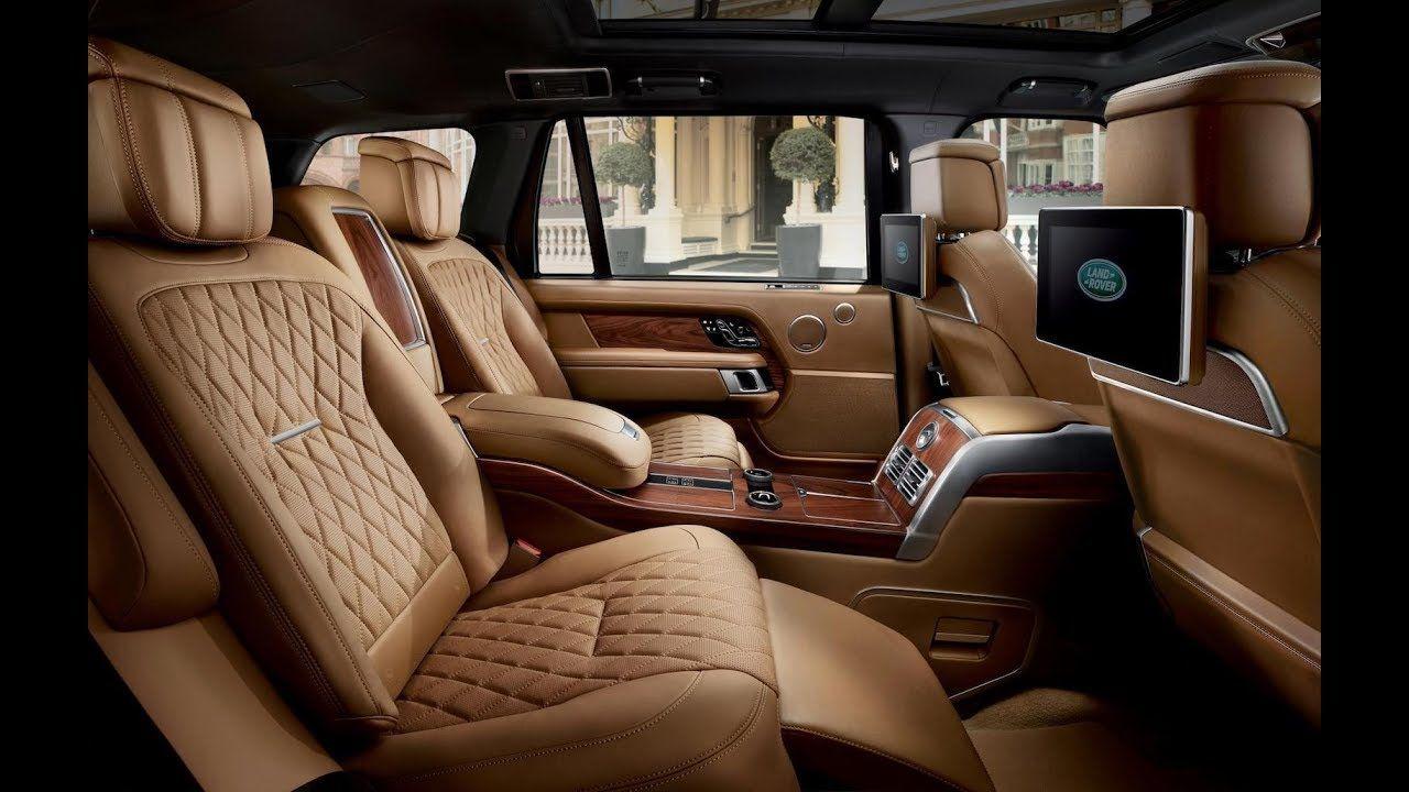 2019 Land Rover Range Autobiography Interior World Car