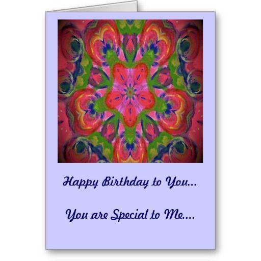 Birthday Card Pink Floral Kaleidoscope Design http://www.zazzle.com/birthday_card_pink_floral_kaleidoscope_design-137117061104764398