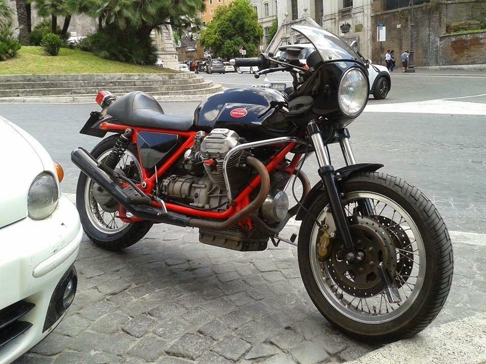 cafè sport motorcycles: Moto Guzzi T3 Cafe Racer