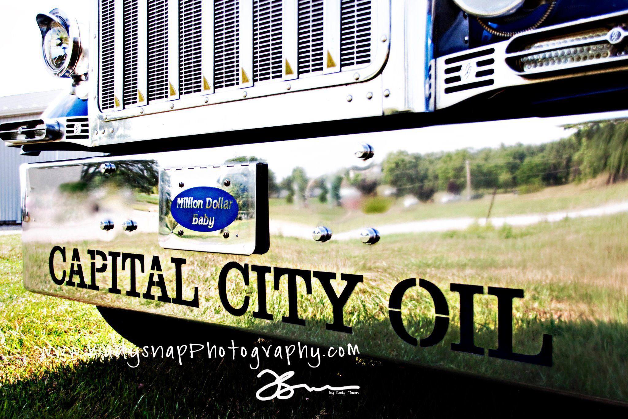 Custom bumper made for Capital City Oil.  by Capital City Chrome & Customs Pataskala, Ohio