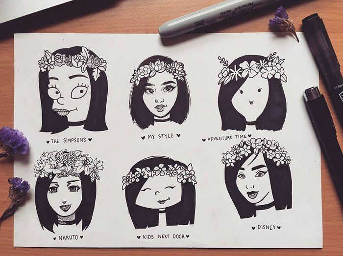 Style Challenge Drawing Cartoon Art Styles Art Style Challenge Cartoon Styles