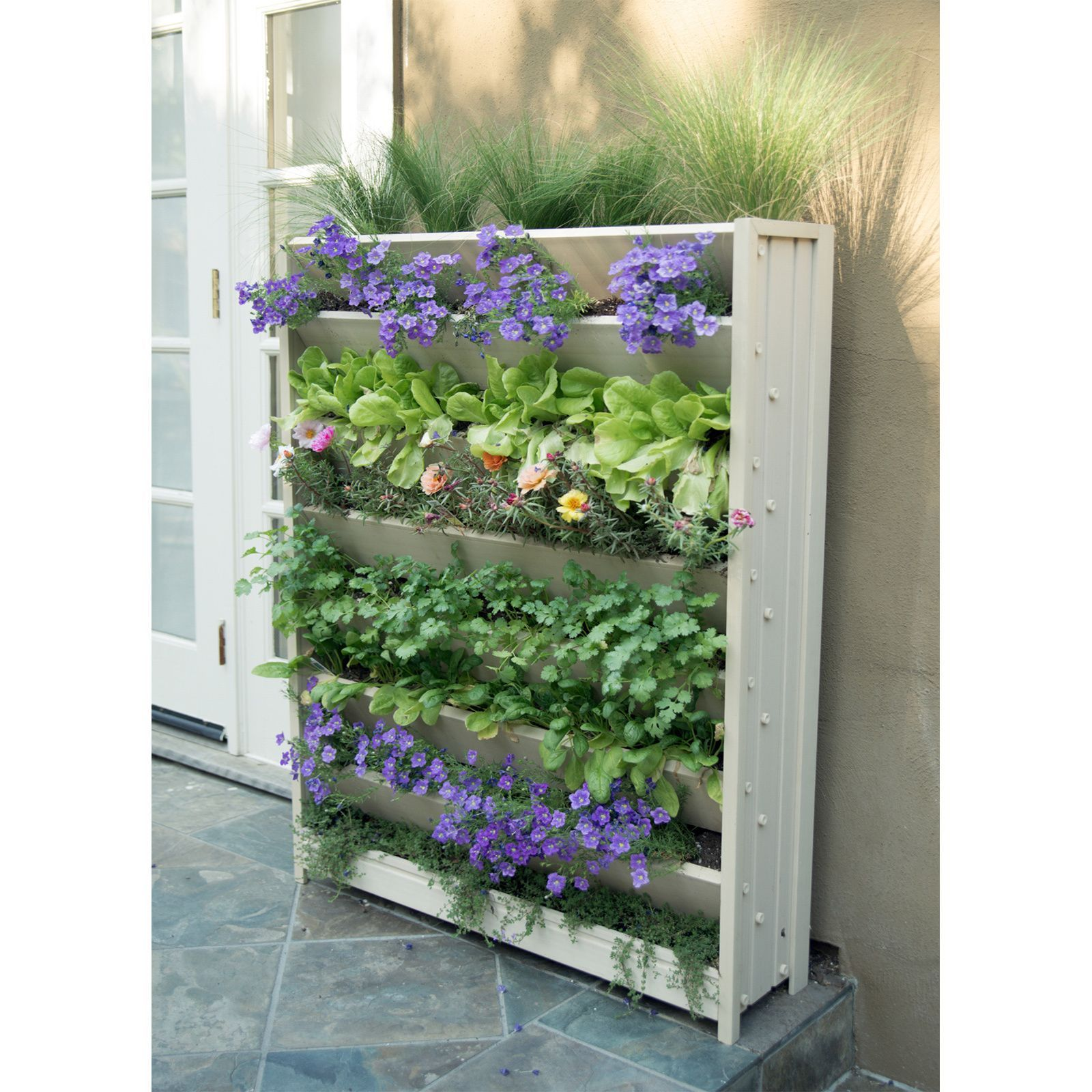 tier planters lettuces great for and vertical garden dp mr with grow amazon strawberries com vegetables planter medium stacky hydroponic