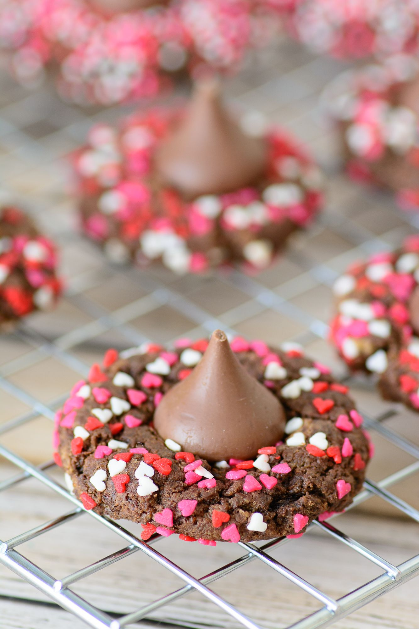 Better For You Gluten Free Chocolate Valentine Cookies - Almost Supermom