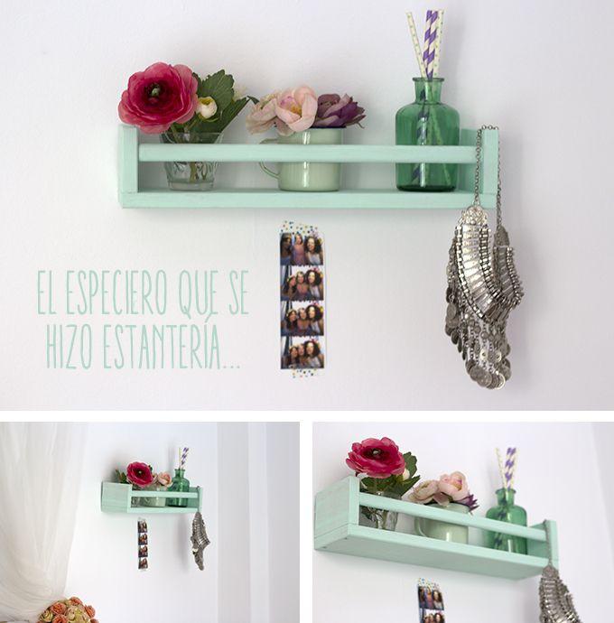 estanteria diy2 DIY - brico y deco Pinterest Estanterías, Piso - estantes para cocina