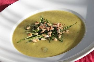 Zucchini-Kartoffel-Suppe von lilymaus06 | Chefkoch
