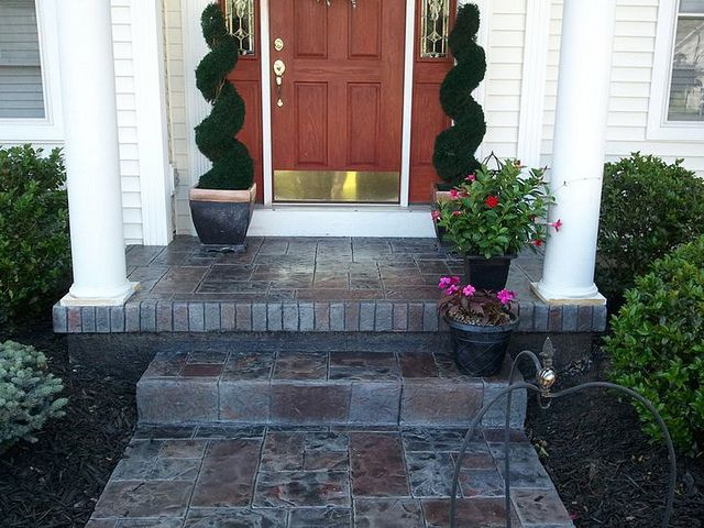 Best 25 Front Porch Steps Ideas On Pinterest Siding