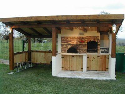 Ensemble grill et four à pain - - Vous avez construit votre barbecue
