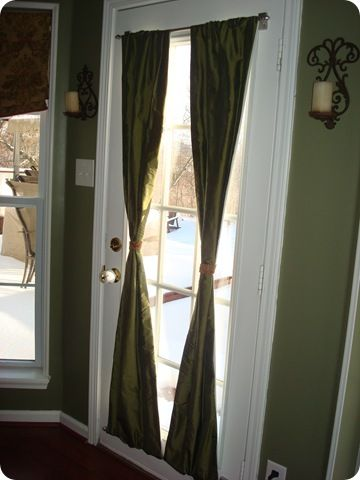 Magnetic Curtain Rods    Donu0027t Need To Screw A Curtain Rod Into It. French  Door ...